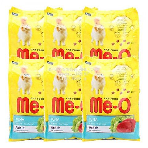 6 Gói Thức Ăn Cho Mèo Lớn Me-O Adult (350g/ Gói)