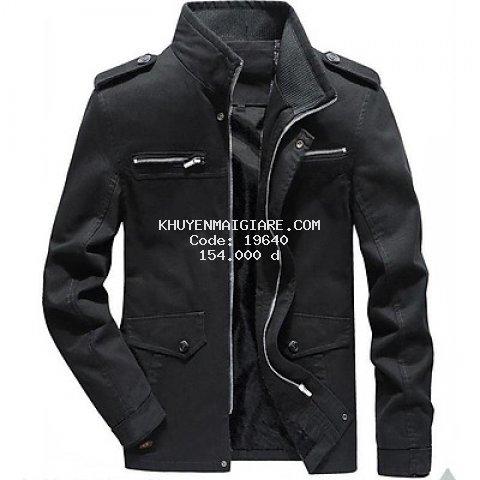 Áo khoác kaki nam cao cấp 3 màu AKKK3M02