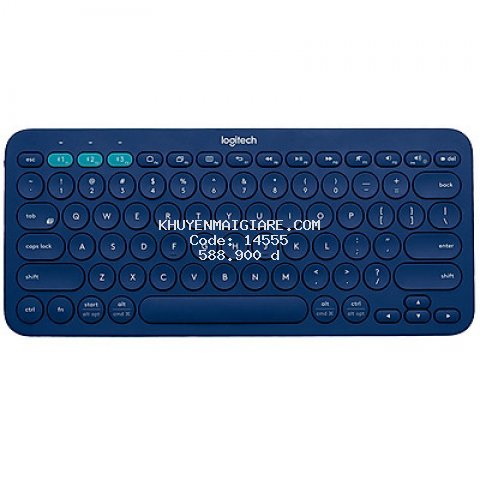 Bàn Phím Bluetooth Logitech K380 - Hàng Chính Hãng