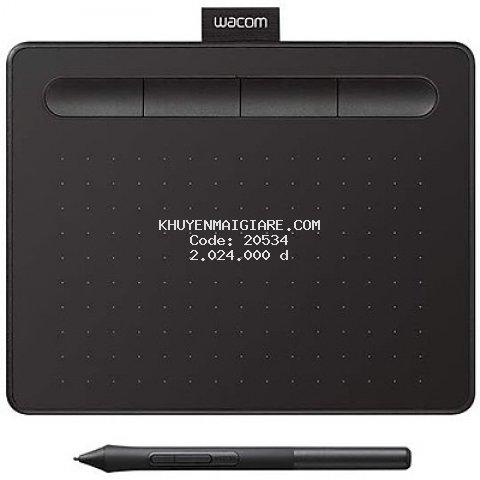 Bảng Vẽ Wacom Intuos S CTL-4100 - Hàng Chính Hãng