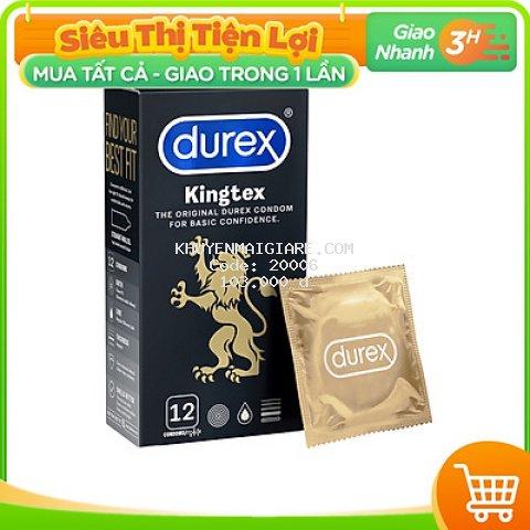Bao cao su Durex Kingtex 12 bao