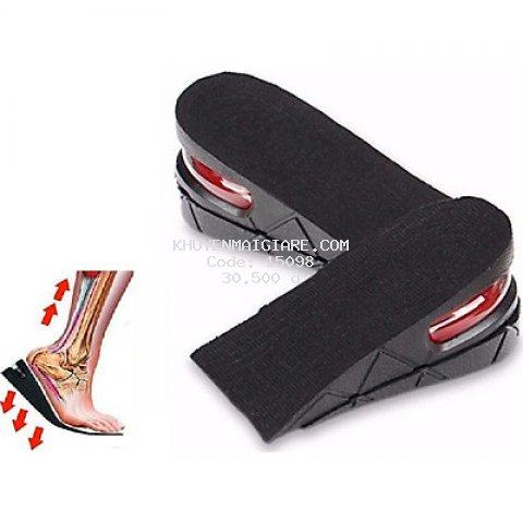 Bộ 1 Cặp Lót Giày Tăng Chiều Cao Đệm Khí