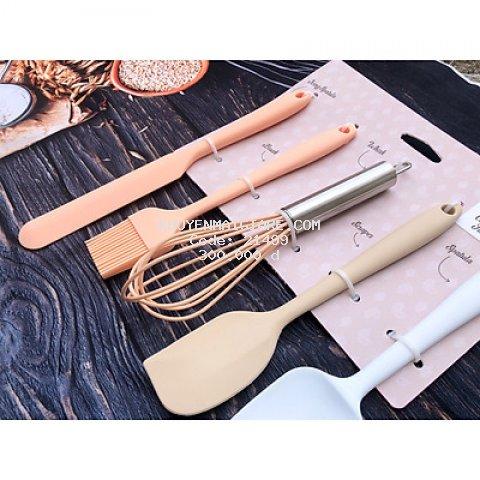 Bộ dụng cụ làm bánh 5 món