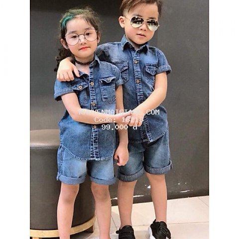 Bộ quần áo dành cho bé trai và bé gái
