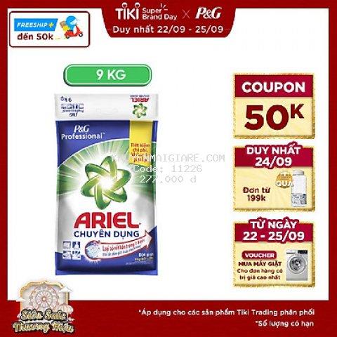 Bột Giặt Ariel Chuyên Dụng (9kg)