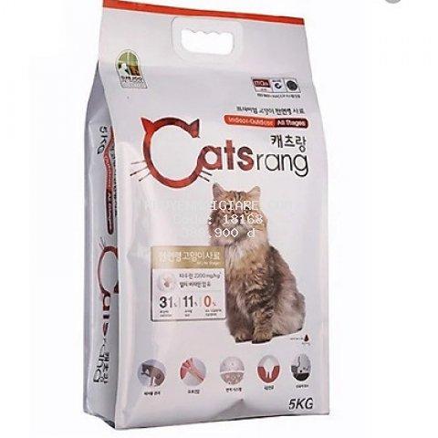 Catsrang 5Kg Thức Ăn Hạt Cho Mèo Mọi Lứa Tuổi