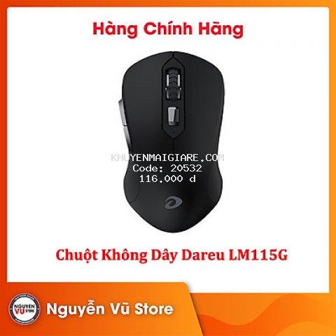 Chuột Không Dây DareU LM115G - Hàng Chính Hãng