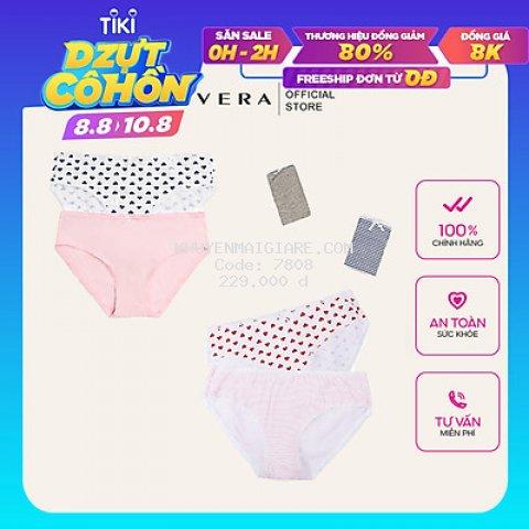 Combo 10 Quần Lót Love Vera Cotton 7166/8397 (Mẫu Ngẫu Nhiên)