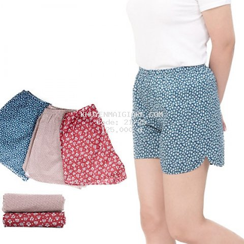 COMBO 5 quần đùi nữ May 10, quần mặc nhà, quần ngủ