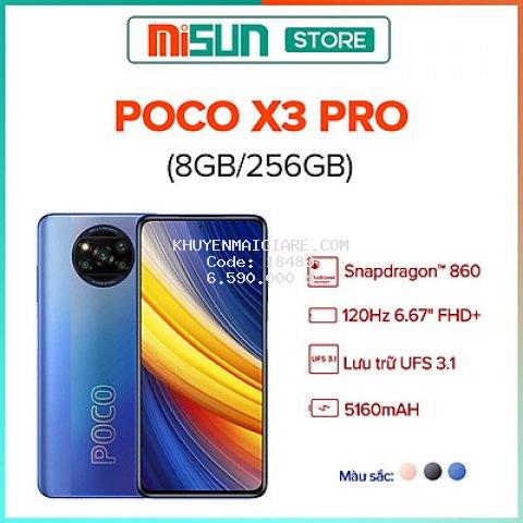 Điện thoại Xiaomi Poco X3 Pro 8GB l 256GB - Hàng Chính Hãng