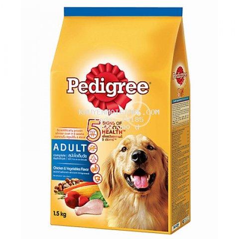 Đồ Ăn Cho Chó Vị Gà Và Các Loại Rau Củ Pedigree Dạng Túi 1.5kg
