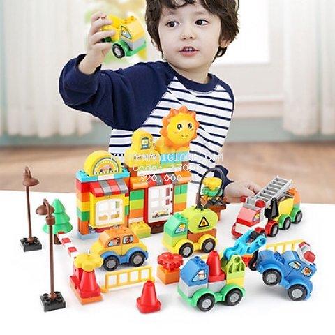 Đồ Chơi Xếp Hình Lego Chủ Đề Gas Station 105 Chi Tiết