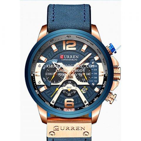 Đồng hồ doanh nhân nam chống nước Curren 8329