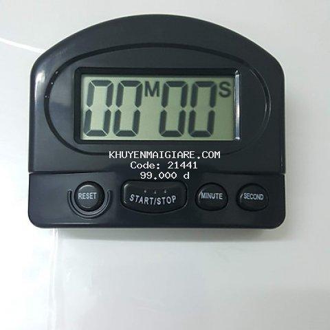 Đồng hồ hẹn giờ, có chế độ đếm ngược