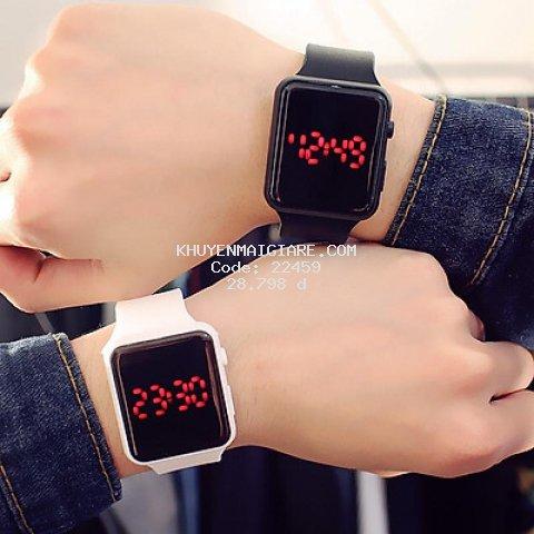 Đồng hồ nam nữ thời trang thông minh led DH71