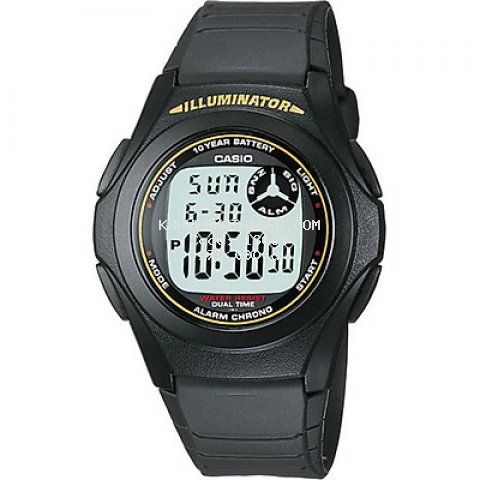 Đồng hồ unisex dây nhựa Casio F-200W-9ADF