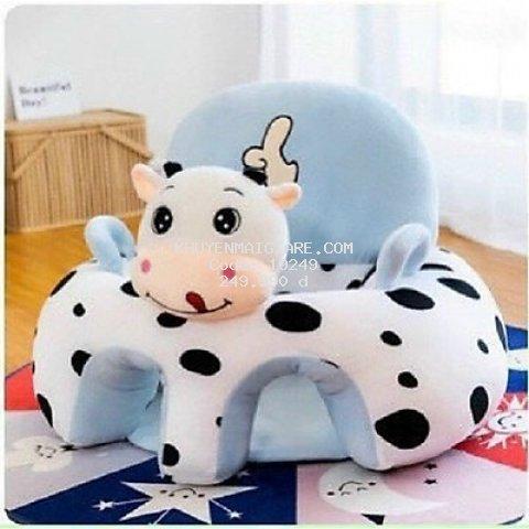 Ghế Tập Ngồi Cho Bé Hình Thú - Bò Sữa
