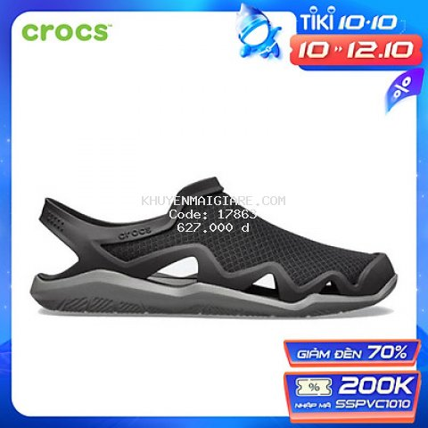 Giày  Crocs Swiftwater Mesh Wave Nam 205701