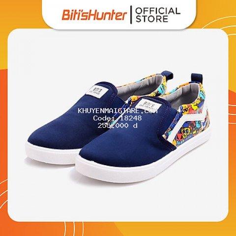 Giày Vải Bé Trai Biti's DSB134000XNH (Xanh Nhớt)