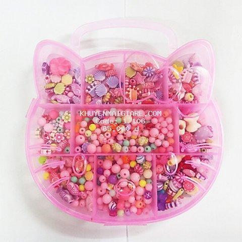 Hộp xâu hạt, xâu vòng, xỏ dây chuỗi hạt cho bé