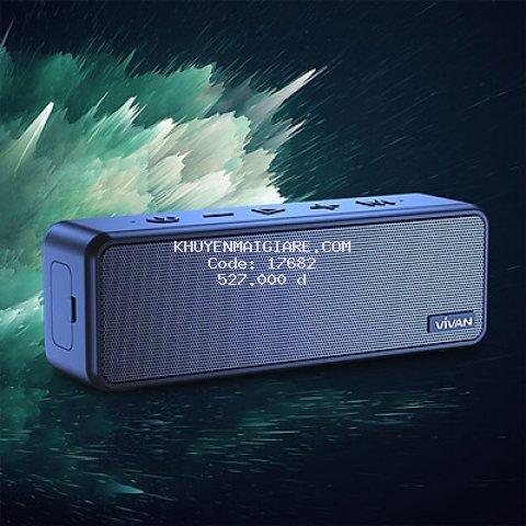 Loa Bluetooth 5.0 - [[ Nghe 24h - Phạm Vi 20m, 200m2 ]] - VIVAN VS20 - Hàng Chính Hãng