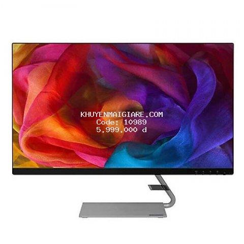 Màn hình máy tính Lenovo Q27q-10 65F4GAC3VN (27-inch QHD ((2560x1440)/ IPS Anti-glare/ 300 nits/ 75Hz) - Hàng Chính Hãng