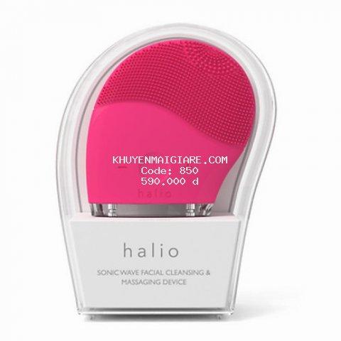 Máy Rửa Mặt Và Mát Xa Da Mặt Halio Facial Cleansing & Massaging Device