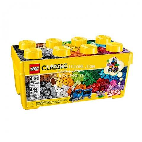 Mô Hình LEGO Thùng Gạch Trung Classic 10696 Sáng Tạo (484 Mảnh Ghép)