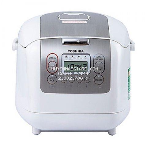 Nồi cơm điện tử Toshiba 1.8 lít RC-18NTFVN(W) - HÀNG CHÍNH HÃNG