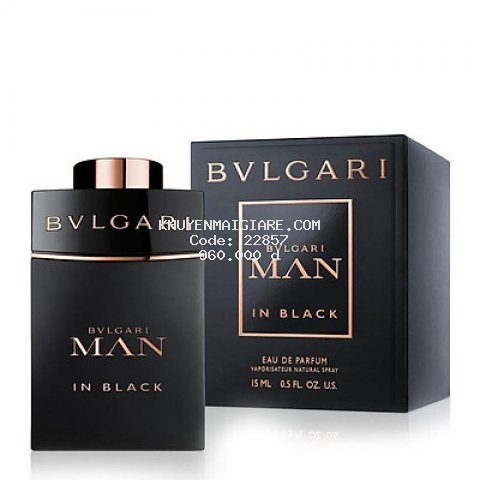Nước hoa nam BVLGARI Man In Black EDP 15ml