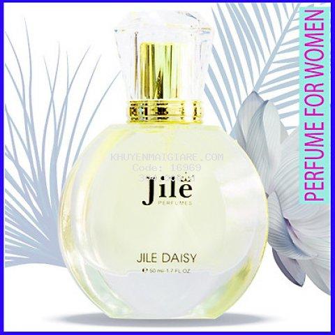 Nước hoa nữ cao cấp chính hãng Jile Daisy 50ml (Chance) với hương thơm nồng nàng, quý phái
