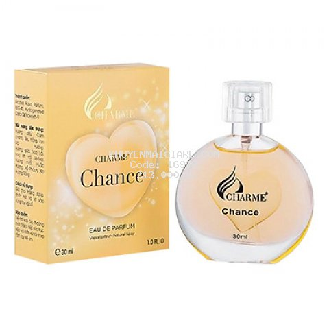 Nước Hoa Nữ Charme Chance (30ml)