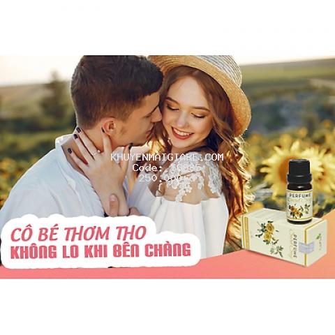 Nước hoa vùng kín LaFla  Perfume Secret Sexy LaFla 10ml