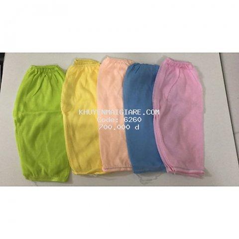 Quần dài màu nhạt cotton mềm, mịn cho bé giao màu ngẫu nhiên