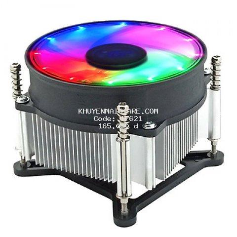 Quạt CPU Led lõi đồng Coolmoon 11X for Intell - hàng nhập khẩu