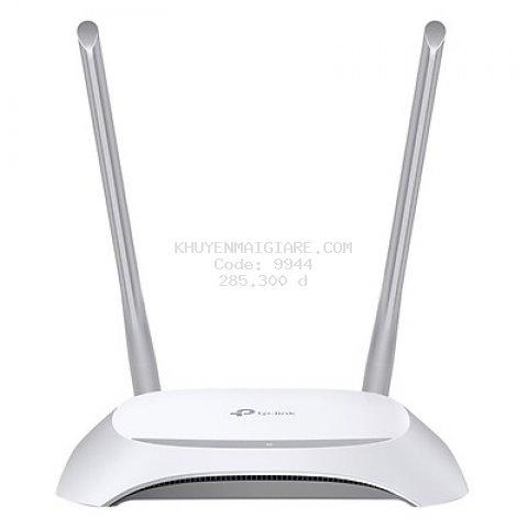 Router Wifi Chuẩn N 300Mbps TP-Link TL-WR840N - Hàng Chính Hãng