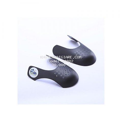 Sneaker Shield đen bảo vệ mũi giày, độn chống nhăn gãy nứt