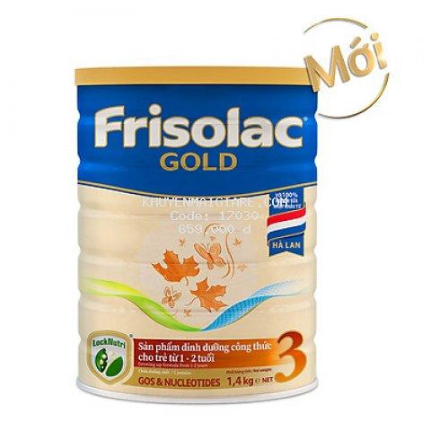 Sữa Bột Frisolac Gold 3 1400g (Dành Cho Trẻ Từ 1 - 2 Tuổi)