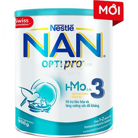 Sữa Bột Nestlé NAN OPTIPRO HM-O 3 900g