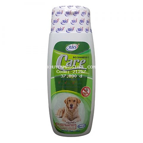 Sữa Tắm Chó Mèo Trị Ve Ghẻ, Bọ Chét, Rận Tai Bio (150ml)