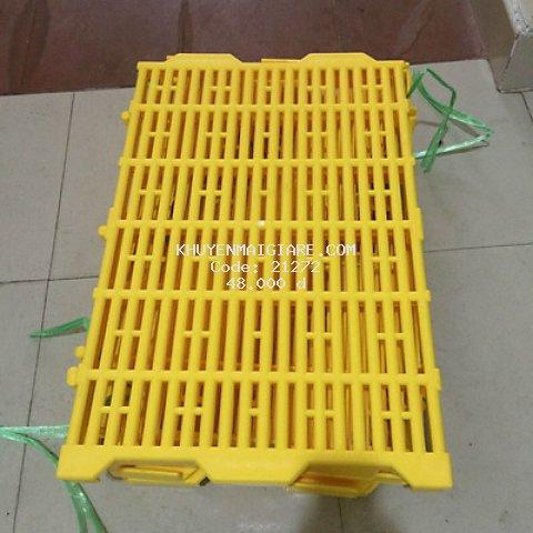 Tấm lót sàn nhựa cho vật nuôi