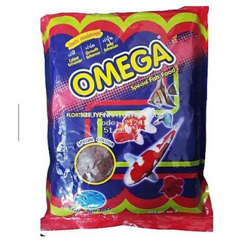 Thức Ăn Cá Omega (Viên Lớn) 500g - Cám Cá Cảnh