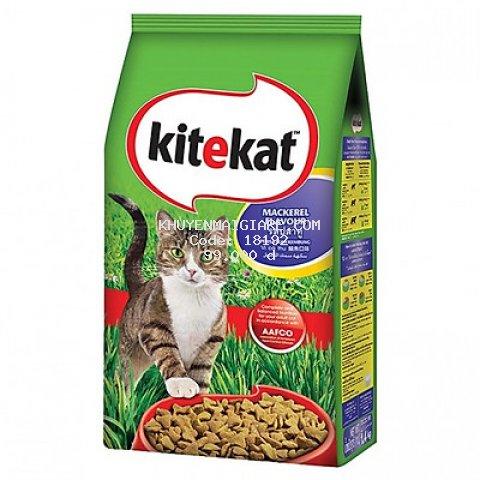 Thức ăn mèo Kitekat vị cá thu túi 1.4kg