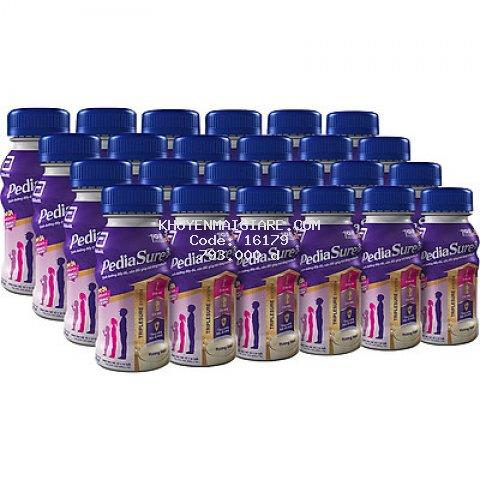 Thùng 24 Chai Sữa Nước Abbott Pediasure Vani 237ml