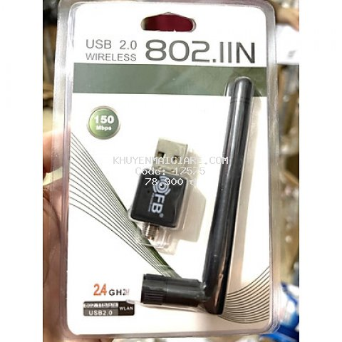 USB THU WIFI CHO MÁY TÍNH