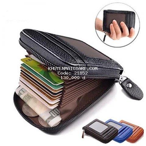 Ví da đựng thẻ card ( ATM, VISA,.....) cho cả nam và nữ