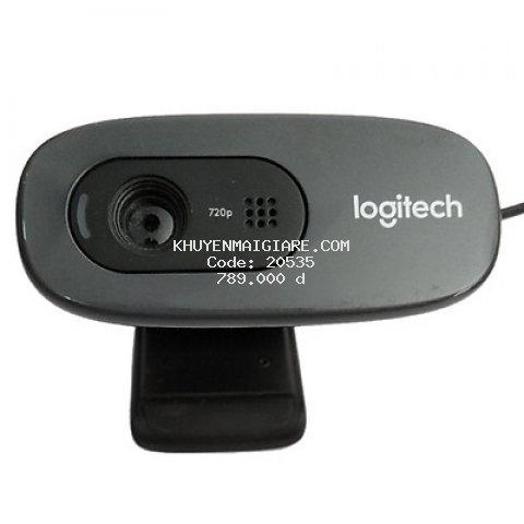 Webcam Logitech C270 HD 720P - Hàng Chính Hãng